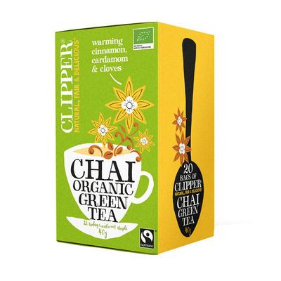 Clipper Organic green tea chai 1-kops