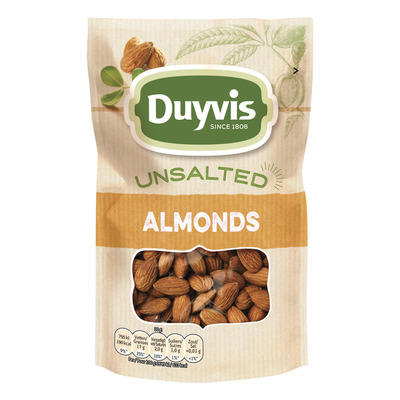 Duyvis Unsalted almonds