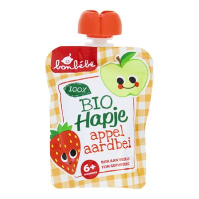 Huismerk 6+ Appel aardbei Biologisch