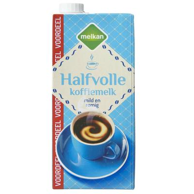 Melkan Halfvolle Koffiemelk Voordeelpak