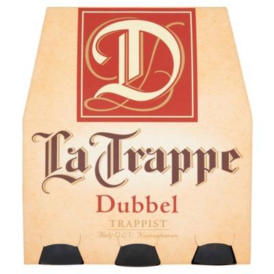 La Trappe dubbel 6 x 30 cl. incl. €0,60 statiegeld
