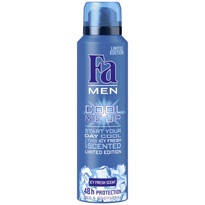 Fa Deospray men cool me up