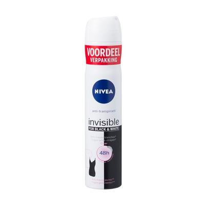 Nivea Black & White Clear Deodorant Spray