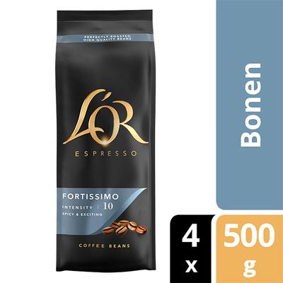 L'OR Fortissimo bonen 4x 500 gram
