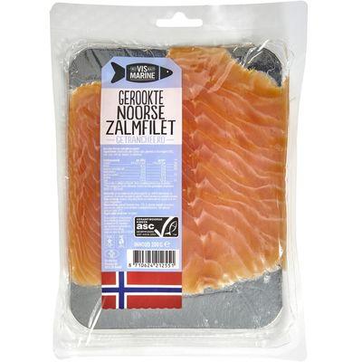 Vismarine Gerookte Noorse Zalmfilet