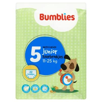 Bumblies broekjes nr.5 junior 22 stuks