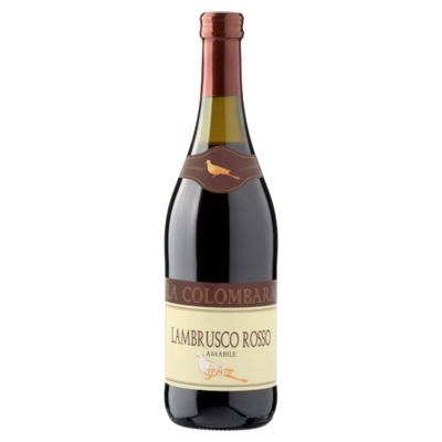 Lambrusco rood 75 cl.
