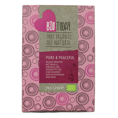 Bio Today Pure & peaceful tea