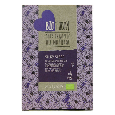 Bio Today Silky sleep tea