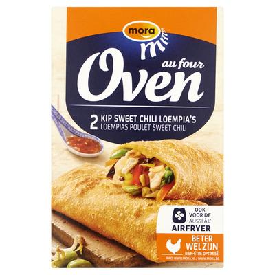 Mora Oven kip sweet chili loempia's