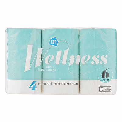 Huismerk Wellness toiletpapier 4-laags