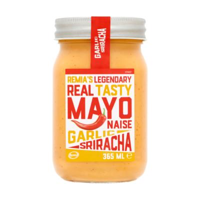 Remia's Legendary Real Tasty Mayonaise Garlic Sriracha