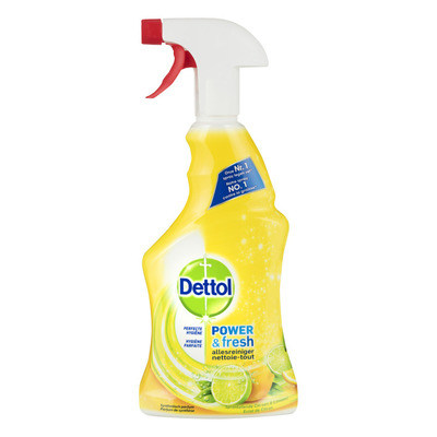 Dettol Power & fresh allesreiniger spray citrus