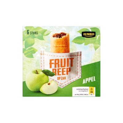 Huismerk Fruitreep Appel 6 Stuks
