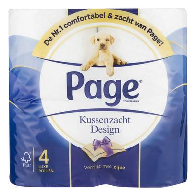 Page Toiletpapier kussenzacht design