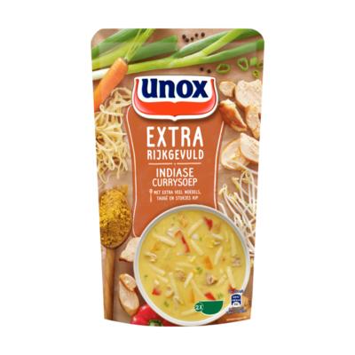 Unox Soep in Zak Indiase Currysoep