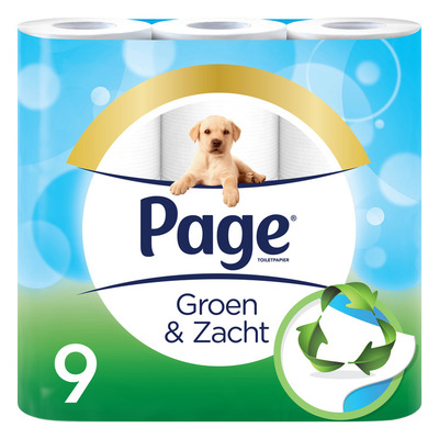 Page Groen & zacht toiletpapier 3-laags