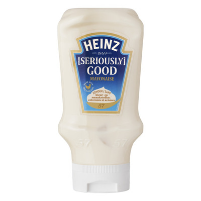 Heinz Seriously good mayonaise topdown