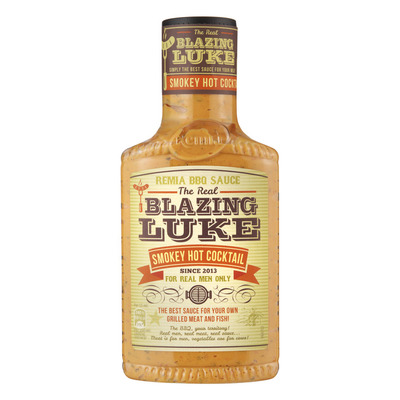 Remia Blazing Luke smokey hot cocktail