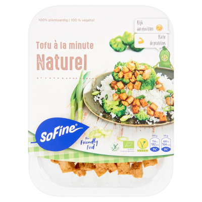 SoFine Tofu à la Minute Naturel 180 g