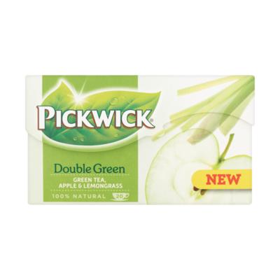 Pickwick Double Green Appel & Citroengras (Groene Thee)