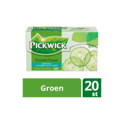 Pickwick Double Green Komkommer & Munt (Groene Thee)