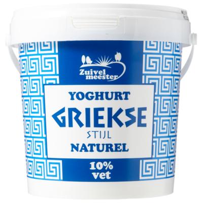 Zuivelmeester Yoghurt Griekse stijl 10%
