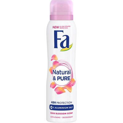 Fa Deospray naturel & pure light rose