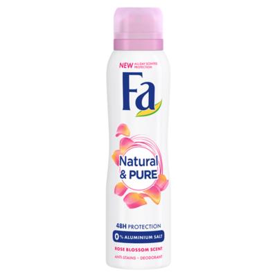 Fa Natural & Pure Rose 48u Deodorant Spray