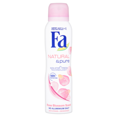 Fa Deospray natural & pure rose