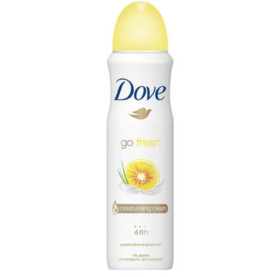 Dove Go fresh deodorant grapefruit