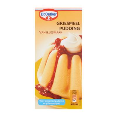 Dr. Oetker Griesmeelpudding Vanillesmaak