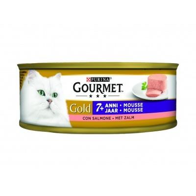 Gourmet Gold mousse senior met zalm