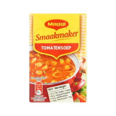 Maggi Smaakmaker Tomatensoep 2 x 64 g voor