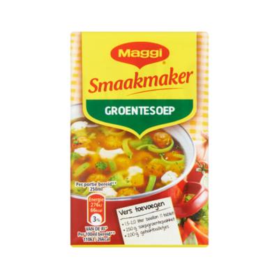 Maggi Smaakmaker Groentesoep Pakje 2 x 39 g voor