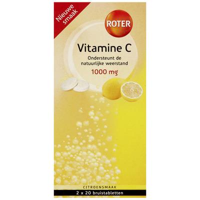 Roter Vitamine C 1000 mg bruistabletten