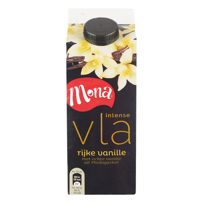 Mona Intense vla rijke vanille