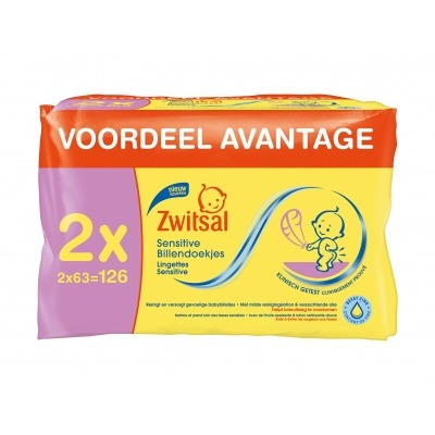 Zwitsal Baby Billendoekjes Sensitive