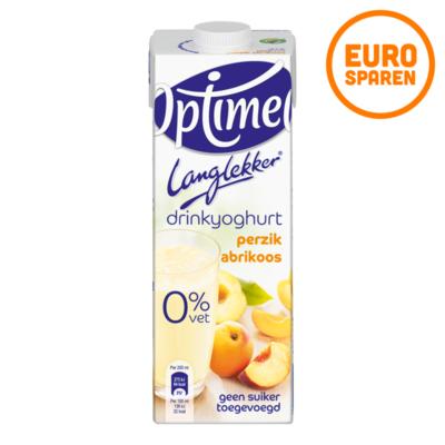 Optimel Lang Lekker Drinkyoghurt Perzik Abrikoos