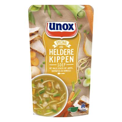 Unox Soep in zak heldere kippensoep