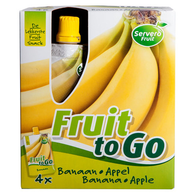Servero Fruit to go banaan-appel