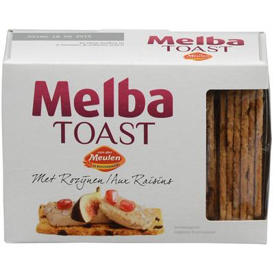 Van der Meulen Melba toast rozijnen