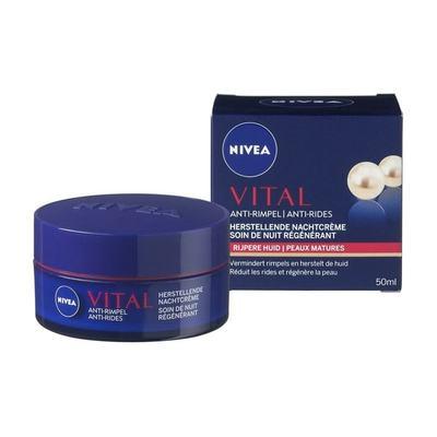 Nivea Vital Anti-Rimpel Herstellende Nachtcrème