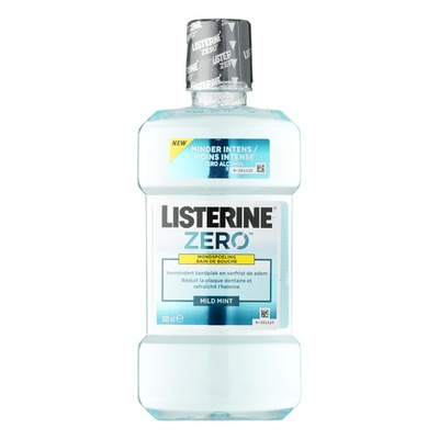 Listerine Mondwater zero mild mint