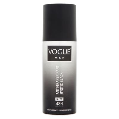 Vogue Men Anti-Transpirant 48h Mystic Black