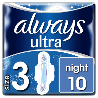 Always Ultra night (maat 3) maandverbanden