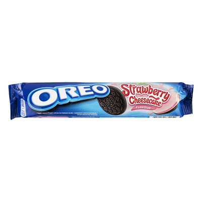 Oreo Biscuits strawberry cheesecake rollpack