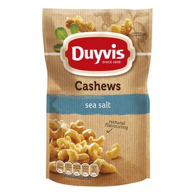 Duyvis Pure & natural cashews sea salt