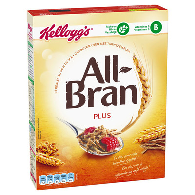 Kellogg's All-bran plus