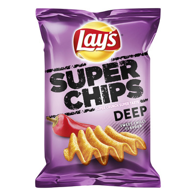 Lay's Superchips deep sweet chilli